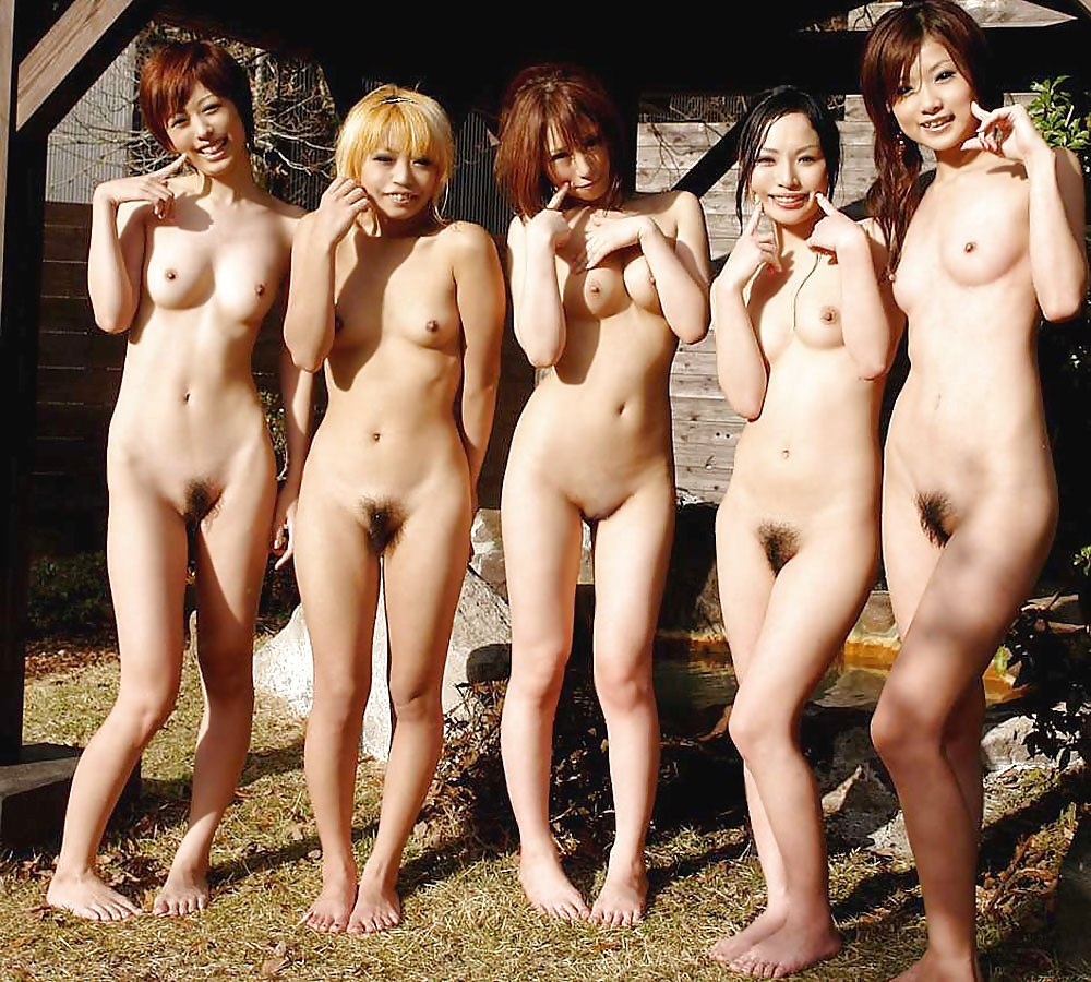 Japanese groups nude girls