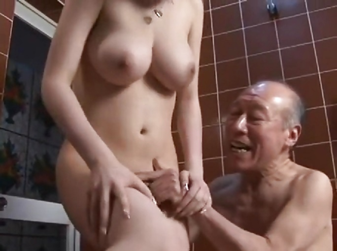 Sexy redhead with perfect tit